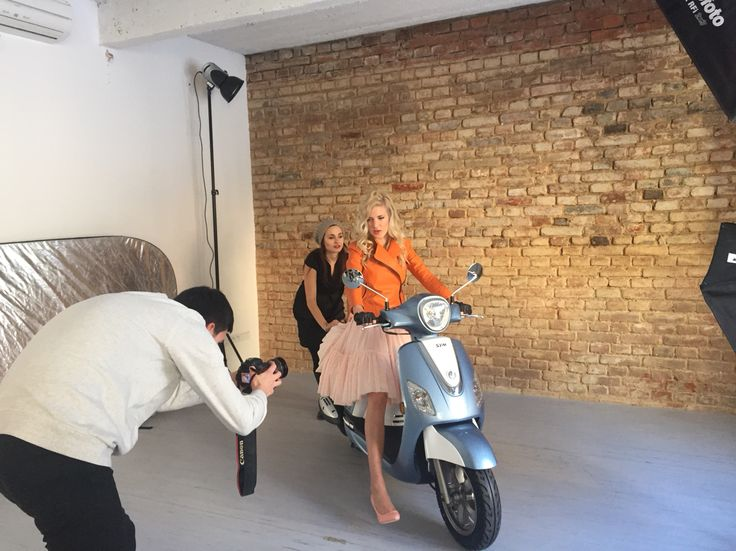 Backstage of sophistic by Veronika for SS 16 Hair by : Barbora Kolenatá