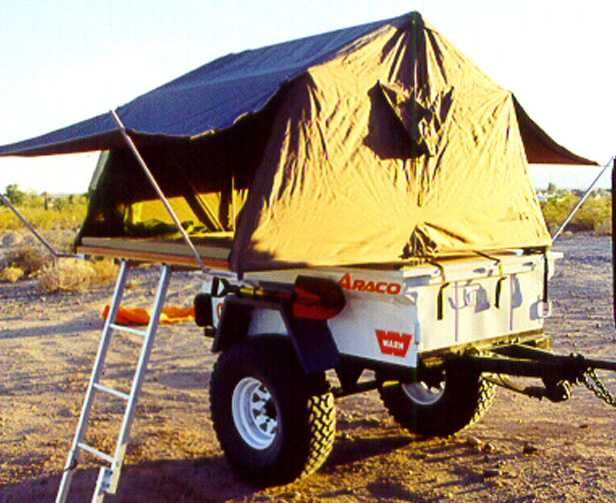 Very small camping trailer