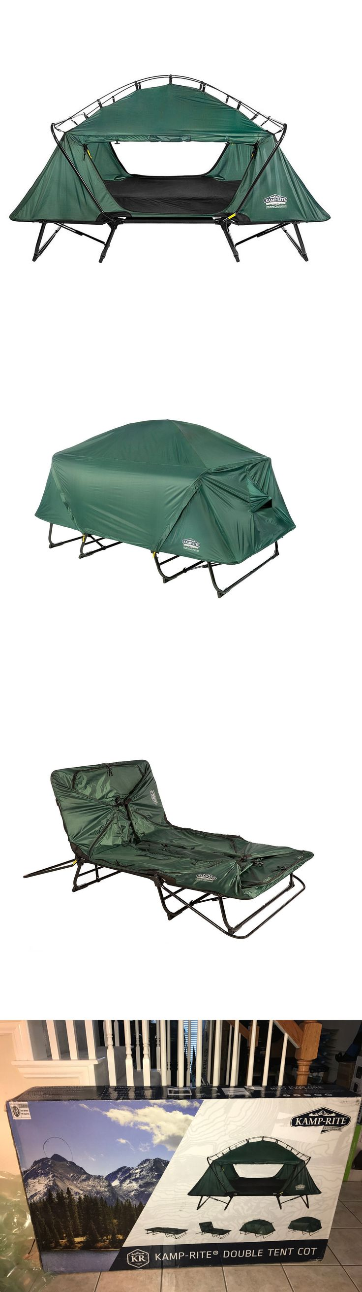 Cots 87099: New Kamp-Rite 2 Person Off The Ground Double Tent Cot Camping Outdoor Hiking -> BUY IT NOW ONLY: $185 on eBay!