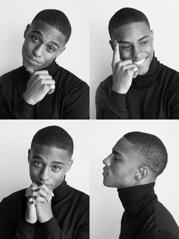 Keith Powers Portraits - Elias Tahan