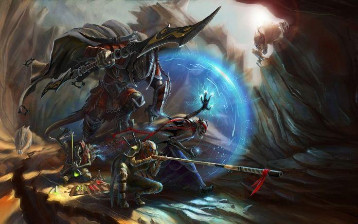 Fantasy Warriors Wallpaper