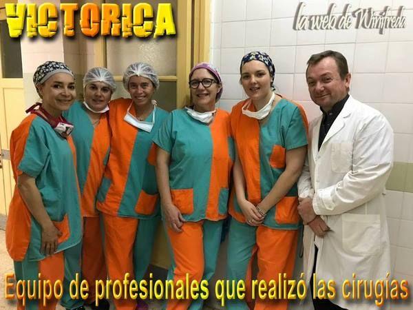 Hospital de Victorica: Realizaron cuatro cirugías infantiles
