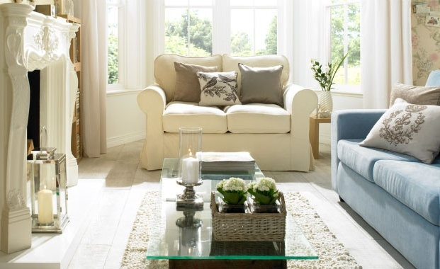 It sounds like a paradox, but 'modern vintage' is all the rage. This is a traditional look that's not too twee, so mix ornate period details with sleek contemporary furniture. All furniture and accessories from ASDA.