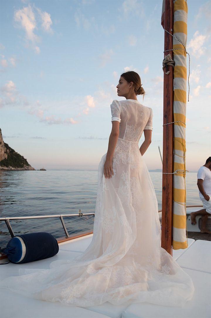 San Michele By J Andreatta Boho Wedding Dress Bohemian Wedding Dress Inspiration Sheer Bridal Gown,Essense Of Australia Long Sleeve Wedding Dress