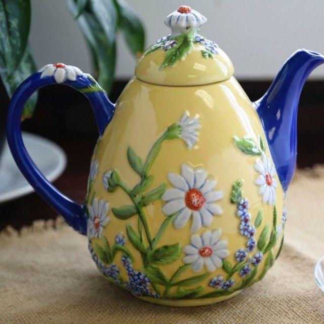 Daisies Dress the Teapot & 331 best ❤ ❤️Temptations❤ ❤ images on Pinterest | Cooking ...