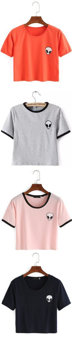 We see summer fashion popping up. Big Sale from $8.99! When your top is this beautiful and bold, the rest of your outfit comes easy. Comfort & Pleasure come from crop top. Show my hot shape! That's just the perfect option. Find your style now at shein.com