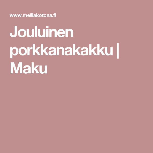 Jouluinen porkkanakakku | Maku