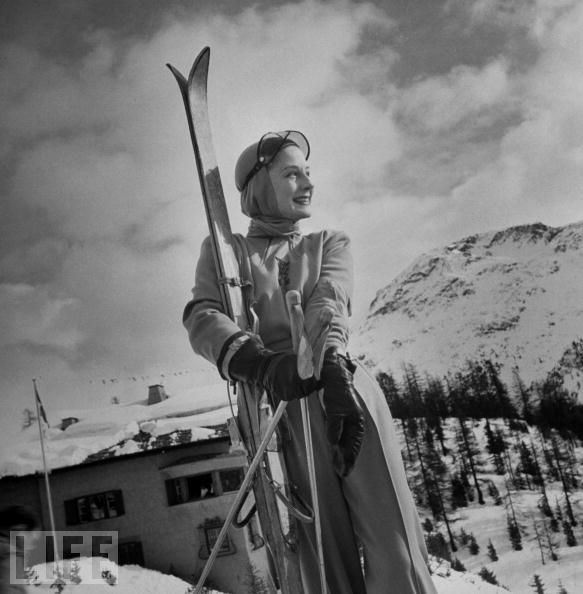 Skiing Images: The Swiss Alps & St. Moritz! Welcome Winter!   The Well Appointed House Blog: Living the Well Appointed Life