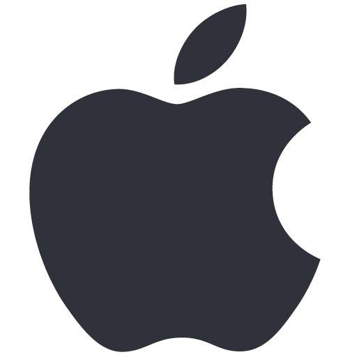 Apple logo icon 512x512 png App Design Pinterest