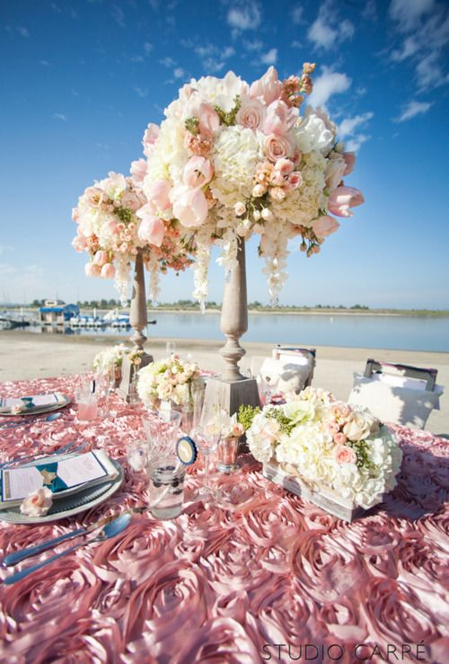 486 best images about Beach themed wedding ideas on