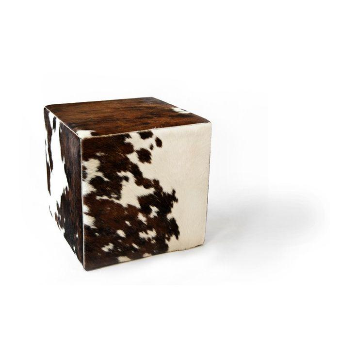 cowhide cube cover* tricolore ORDER HERE: http://www.furhome.gr/shop/en/cowhide-cube-tricolore-274.html