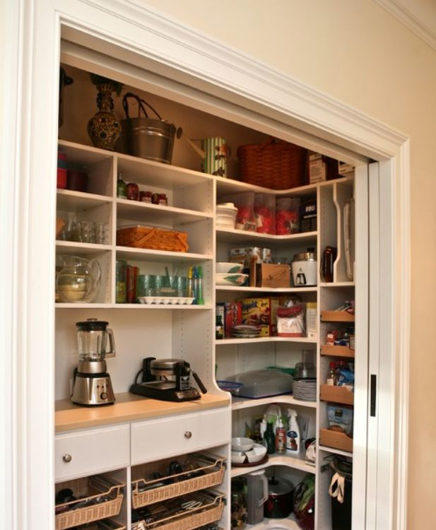25 best building a closet ideas on pinterest diy closet for Convert kitchen desk to pantry