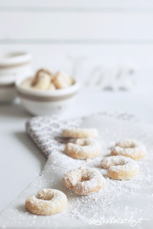♥ Yummy! Vanilkove rohlicky! No Christmas should be without them!
