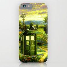 Beautiful Tardis iPhone 6s Slim Case