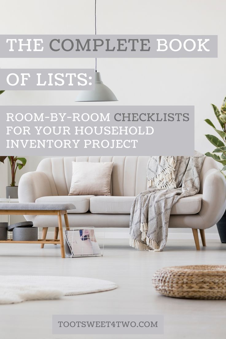 Jul 4, 2020 – The Complete Book of Lists includes 75 different checklists of personal belongings to get you started on y…