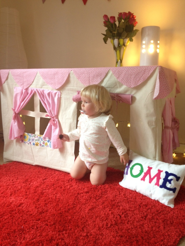 Table Play Tent - Custom made to fit your table. £95.00, via Etsy.