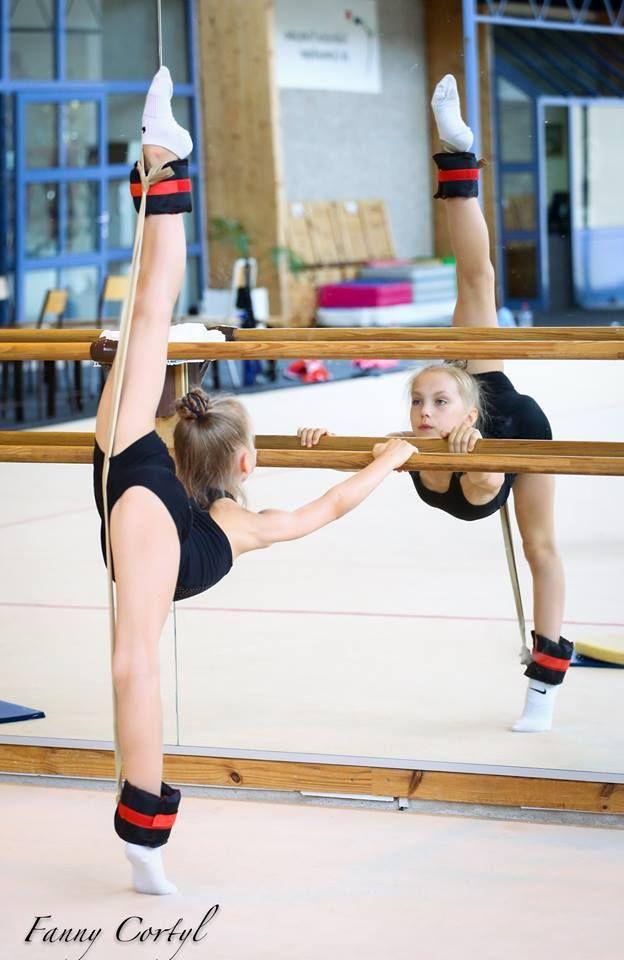 Rhythmic gymnastics training, #bacstage