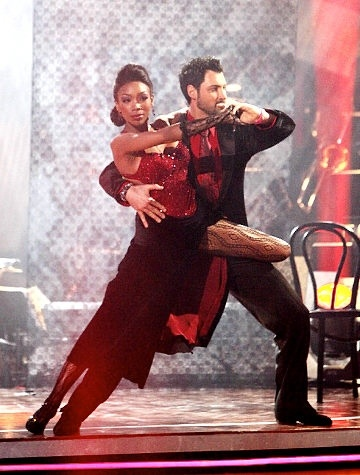 "Maks Chmerkovskiy & Melanie Brown ""Mel B""  -  Dancing With the Stars  -  season 5  -  fall 2007  -  placed 2nd for the season"