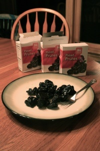 haha, he's at it again, this time it's 2,000 calories in prunes.