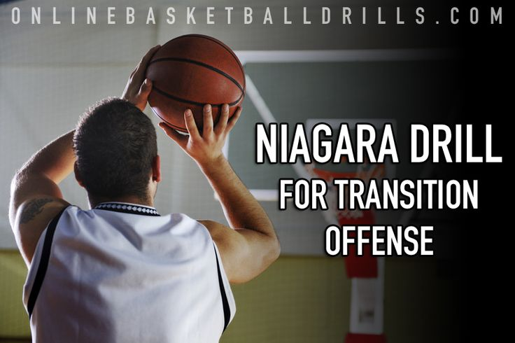 We demonstrate a 5 Man Transition Offense Drill to condition your players to react quickly and shoot accurately to gain the organized break advantage.