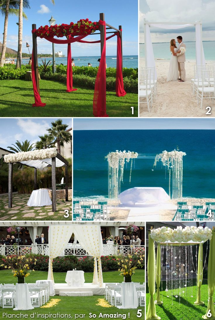 17 best images about mariage la plage on pinterest cap - Decoration exterieur jardin moderne ...