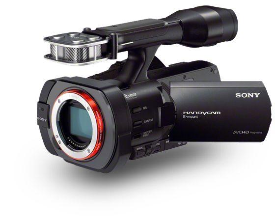 Mijn camera, waarmee ik in 2014 begon te filmen, de VG900: Sony Full Frame. Alle fotolenzen kunnen er ongeveer op (met een adapter per merk). Dus dit is video met de scherpte en schoonheid van een DSLR fotocamera.