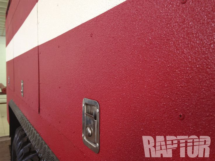 FIRE TRUCK: Full Overspray #raptorised