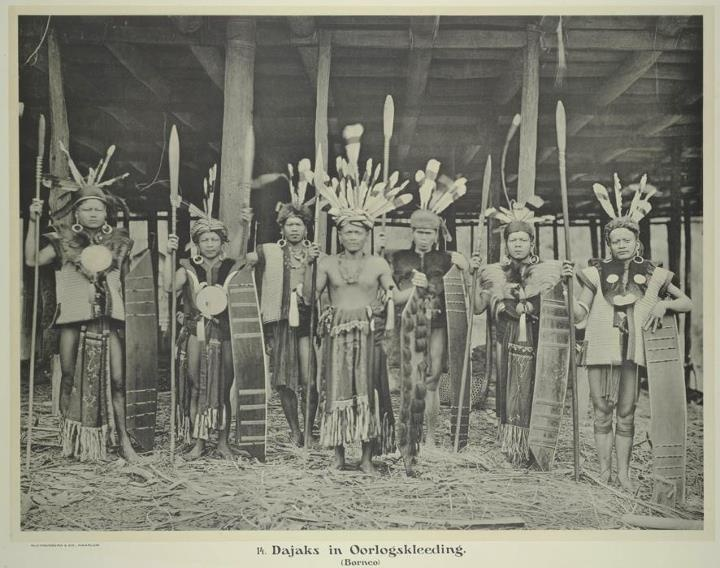 Dayak Warriors (1913)