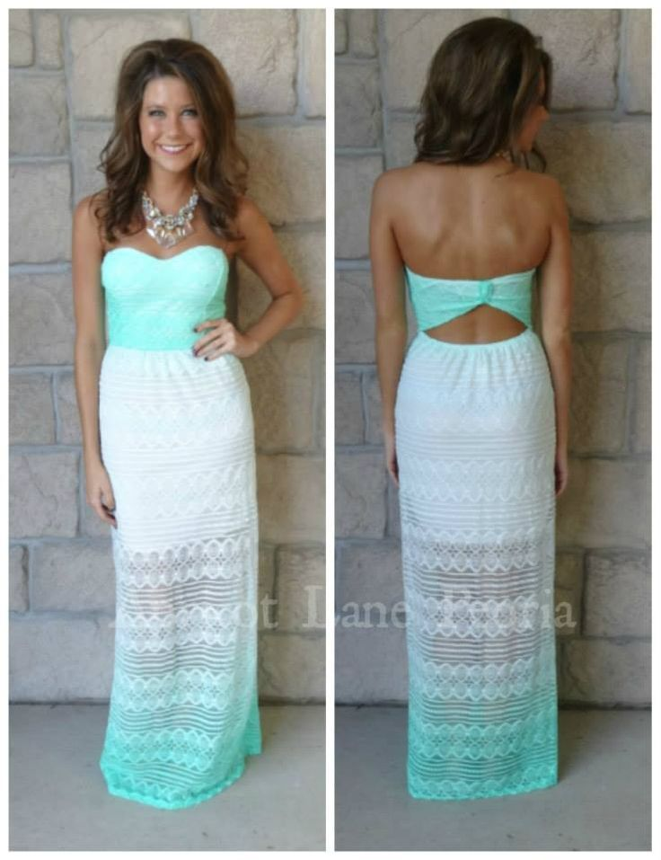 beautiful maxi. would like this color for wedding and maybe even bridesmaid dresses