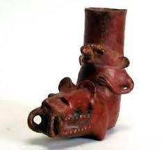 Cultura Condorhuasi. Figura antropozoomorfa.