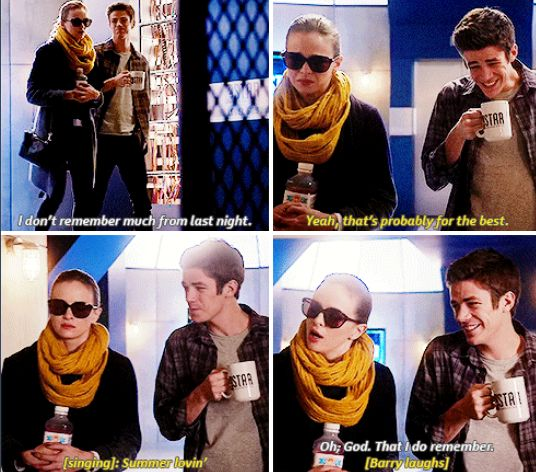The Flash - Barry and Caitlin #1x12 #CrazyForYou #Snowbarry SO CUTE SDFGH OTP