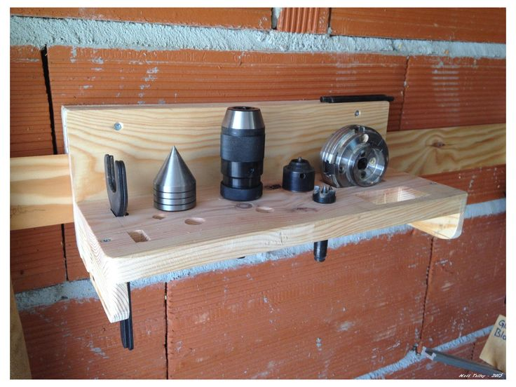 lathe head and tail stock tool holder - french cleat