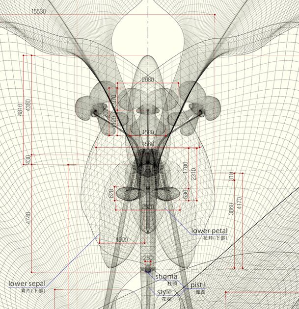 85 best blueprint images on pinterest architecture drawings macoto murayama geometric reproduction appreciation of the natural malvernweather Choice Image