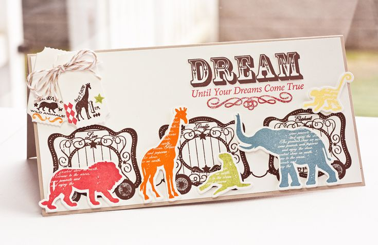 Circus Spectacular Die-namics and Stamp Set - Lisa Johnson