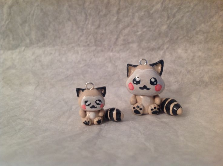 Fimo racoons