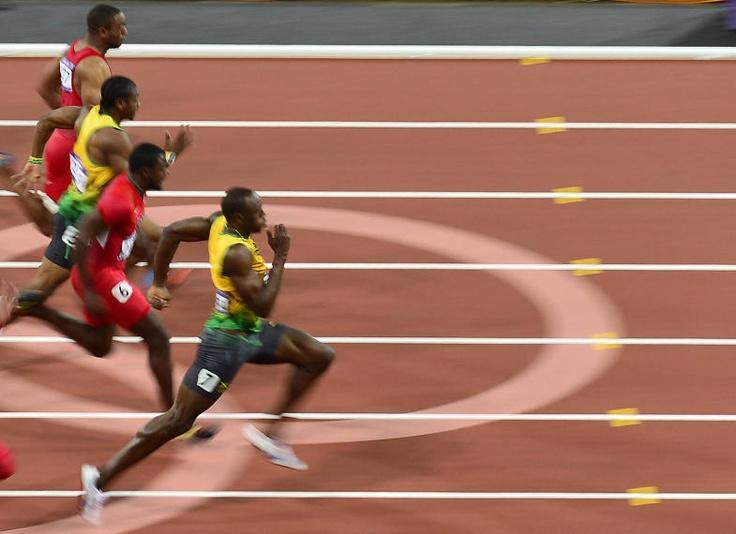 Bolt 100 m