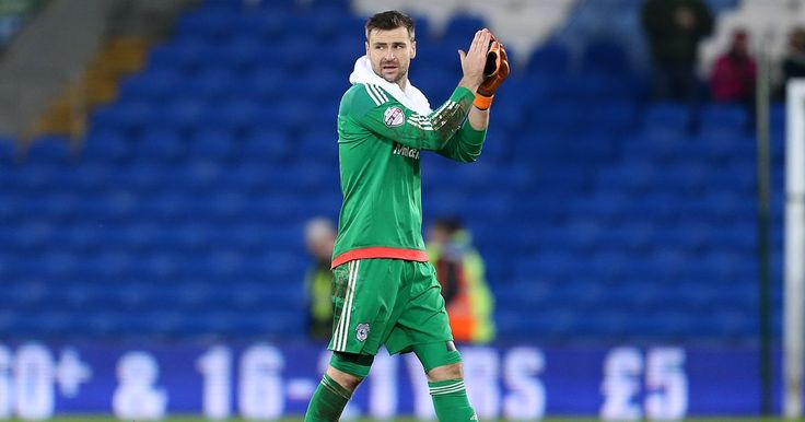 David Marshall, Cardiff City's captain.