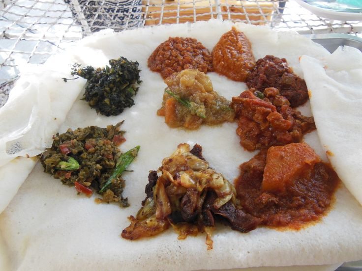 Ethiopian Food at it's best in South Africa !