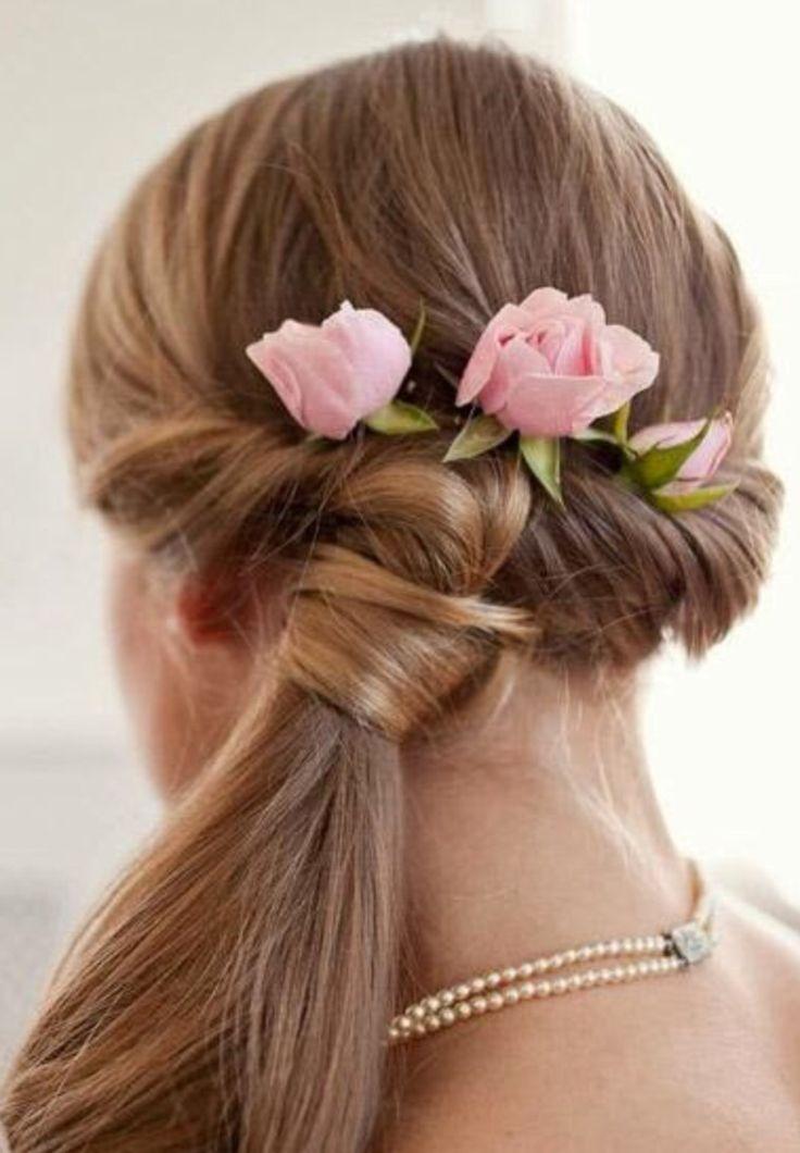 hairstyles to weddings  long hair styles flower girl