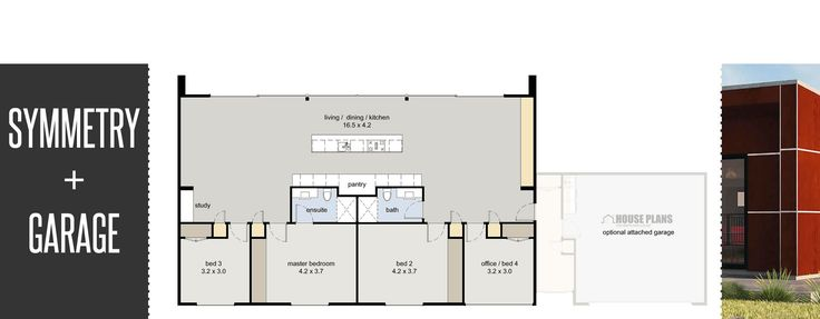 18 best architecture illustration images on pinterest for Long narrow house plans nz