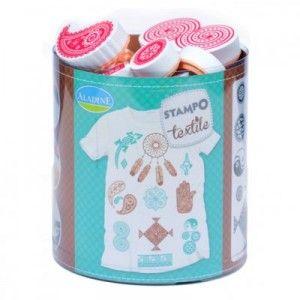 Tampon tampo textile ethnic Aladine customisation