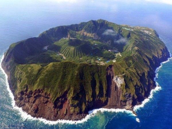 Aogashima Japón. Paisajes más impresionantes del planeta