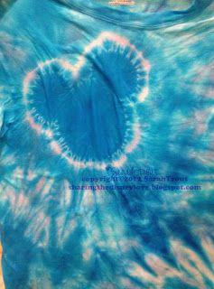 Sharing The Disney Love: Tie Dye shirts - take 2!