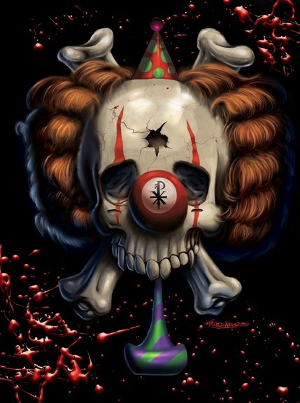 Killer Clown by mike barile on ARTwanted