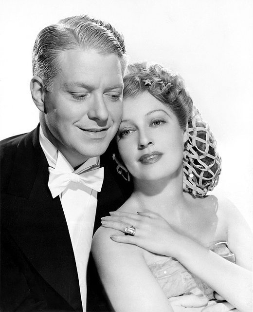 Nelson Eddy and Jeanette MacDonald from I Married an Angel...LOVE her ring!!!