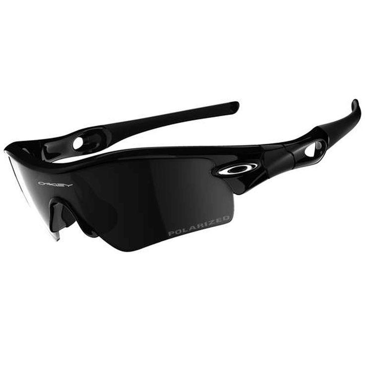 Oakley Radar Path Polarized Sunglasses, Jet Black_Black Iridium, One Size