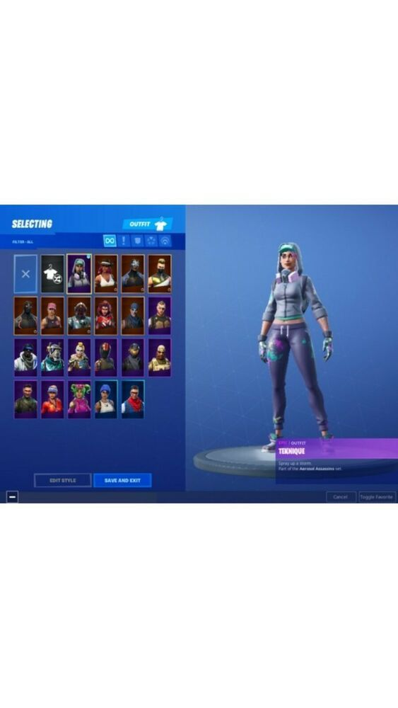 Good Fortnite Account Full access selling cheap comes with