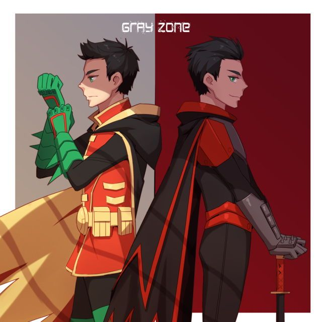Damian Wayne: Who Do You Want To Be? | Bat Family (Fan Art ... Young Justice Robin Damian Wayne