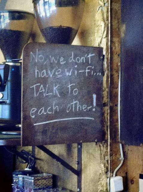 Haha I want a coffee house just so I can put this up!