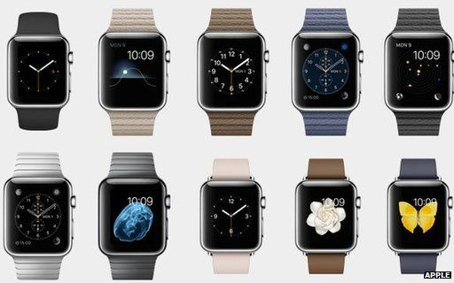 Apple finally launched its much-awaited smartwatch which is expected to hit stores on April 24.   #AppleWatch   #Smartwatch  #Apple